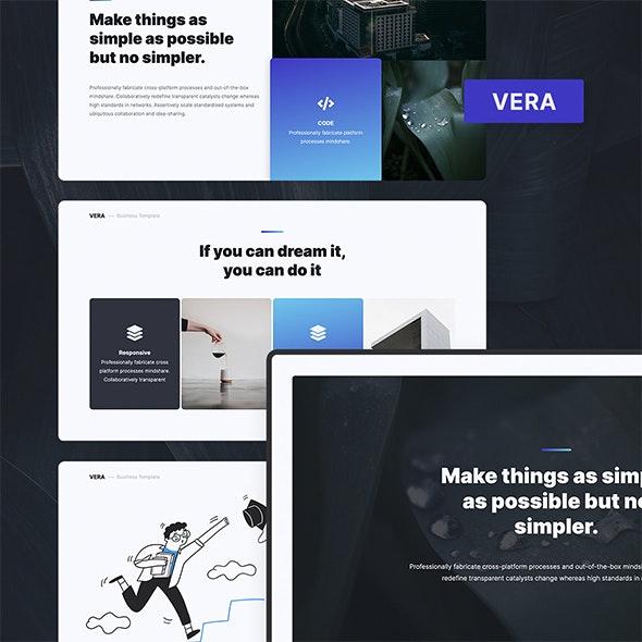 VERA - Creative Presentation Template (PPTX) - Creative PowerPoint Templates