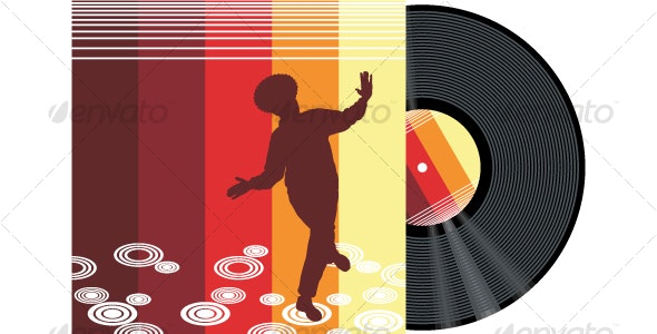 Retro Record - People Characters