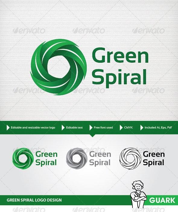 Green Spiral - Nature Logo Templates
