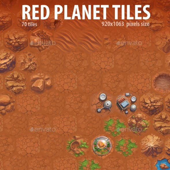 Red Planet Tiles