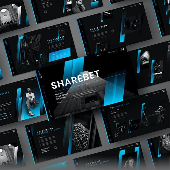 Sharebet – Business Keynote Template
