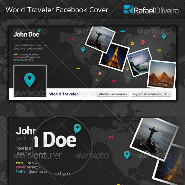 World Traveler Facebook Timeline Cover