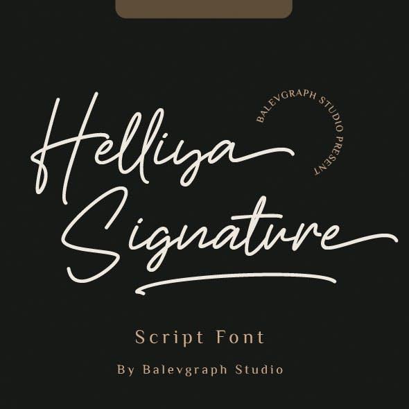 Helliya Signature