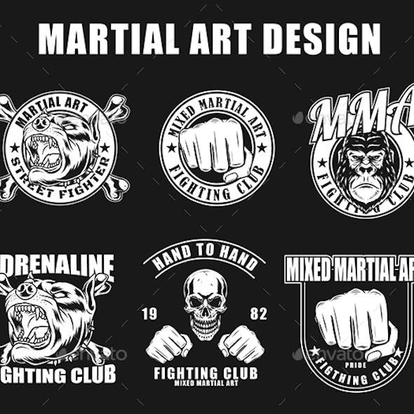 Martial art fighting design
