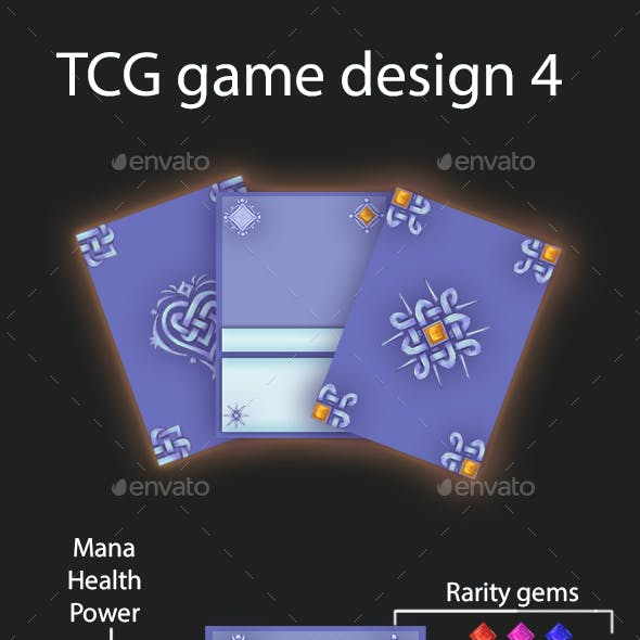 TCG game card design 4