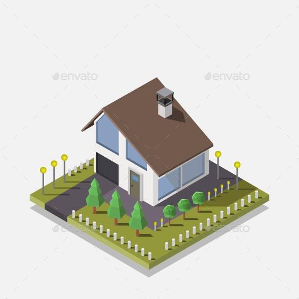Isometric Cottage