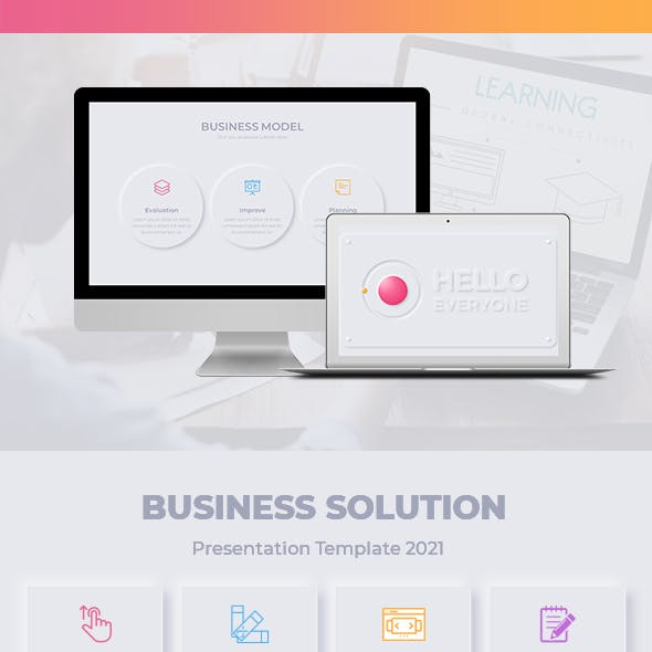 Business Solution Keynote Template 2021