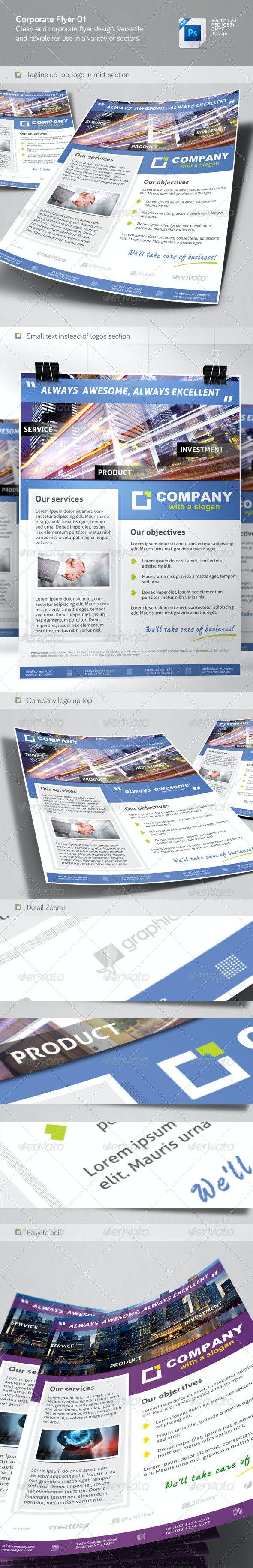 Corporate Flyer 01 - Corporate Flyers