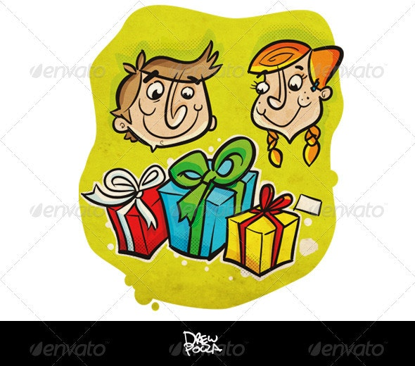 Kids Gifts - Miscellaneous Illustrations