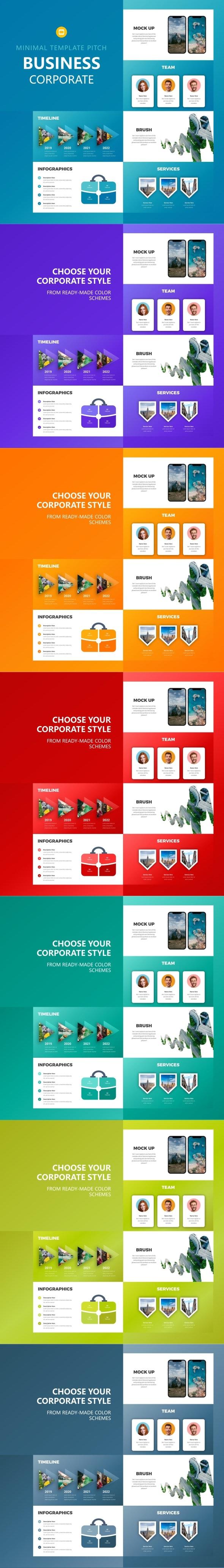 Business Google Slides - Google Slides Presentation Templates