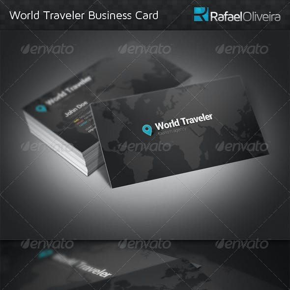 World Traveler Business Card