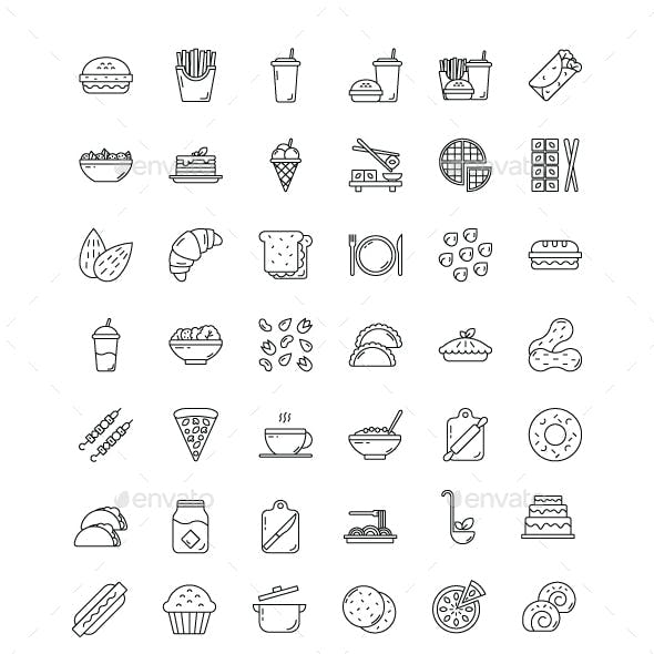 Meal - Icons Pack