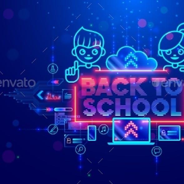 Online Education of Children on Computer Through