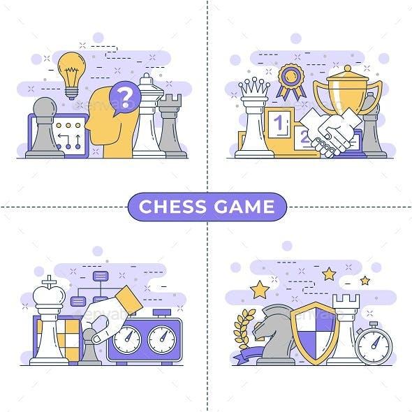 Chess Concept Illustration