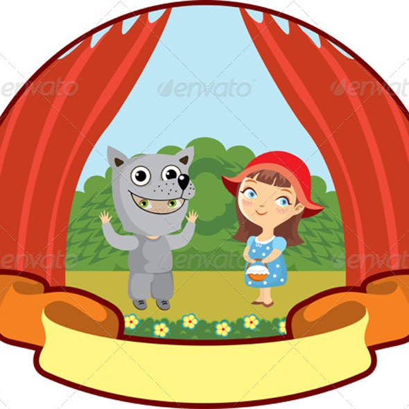 Little Red Riding Hood Children Theater