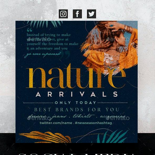 Nature Social Media Pack