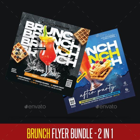 Brunch Flyer Bundle