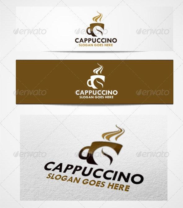 Logo Cappuccino  - Food Logo Templates