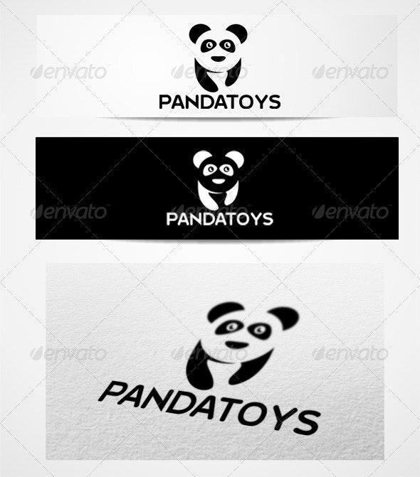 logo pandatoys - Animals Logo Templates