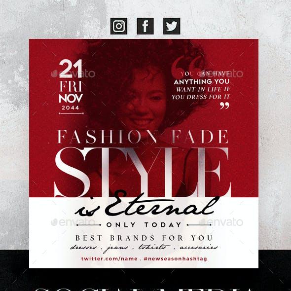 Style Is Eternal Social Media Pack
