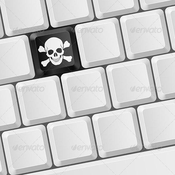 Skull key - Computers Technology