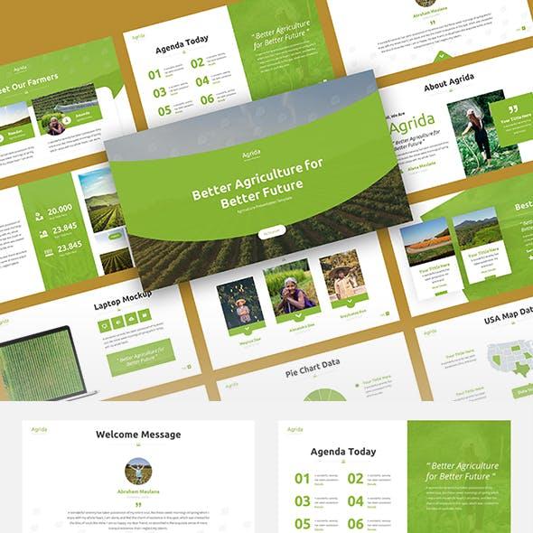 Agrida - Agriculture Google Slides Template