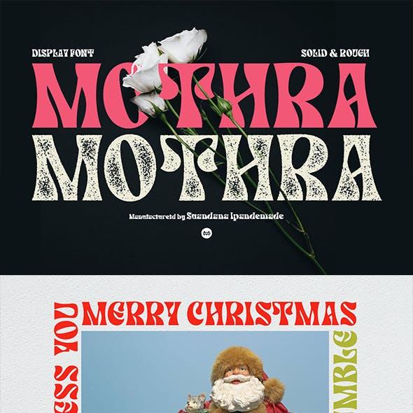 MOTHRA - Display Font