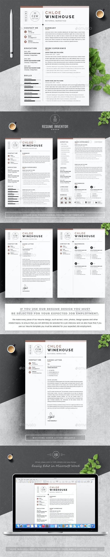 Marketing Resume Template - Resumes Stationery