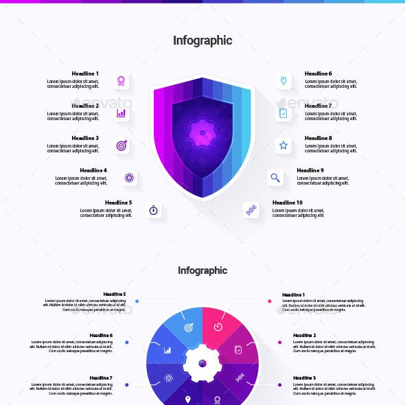Features Infographics
