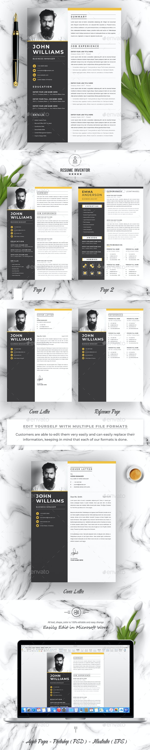 Business Manager Resume - Resumes Stationery