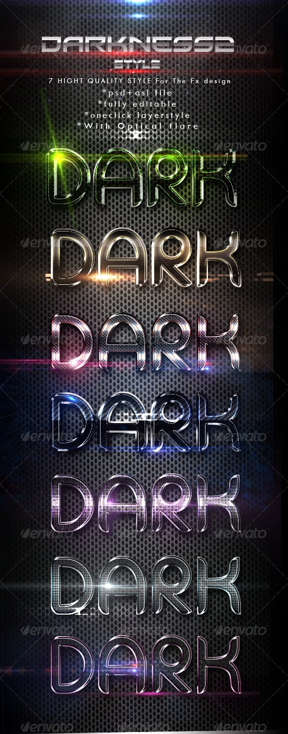 Darkness2 Styles - Text Effects Styles