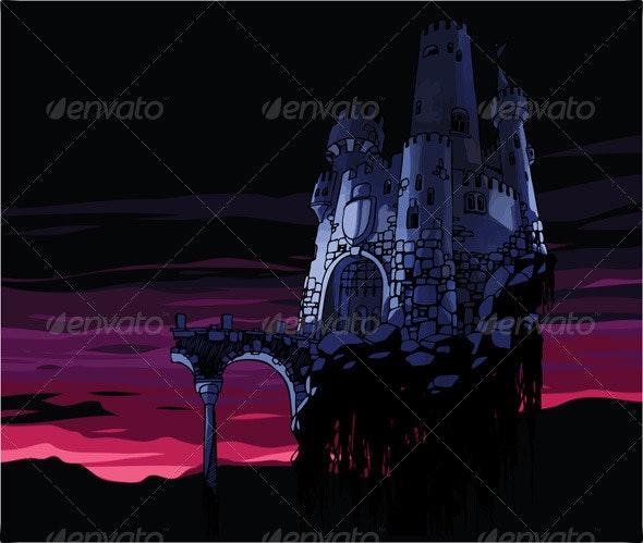 Dark Castle  - Buildings Objects