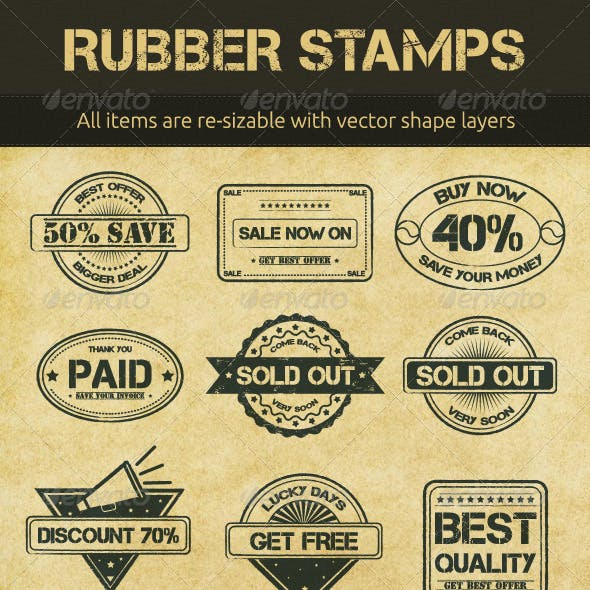 Selling Rubber Stamps