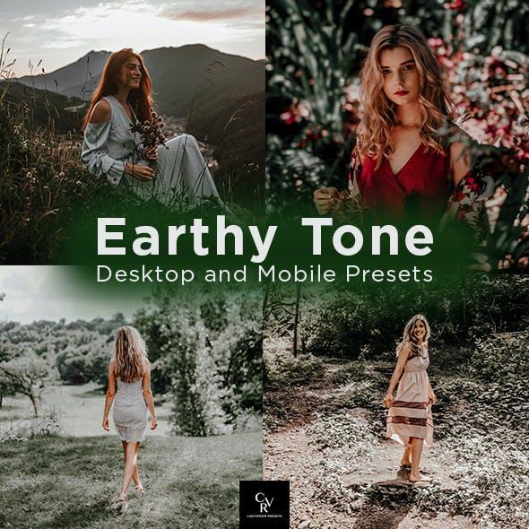 6 Earthy Tone Lightroom Presets