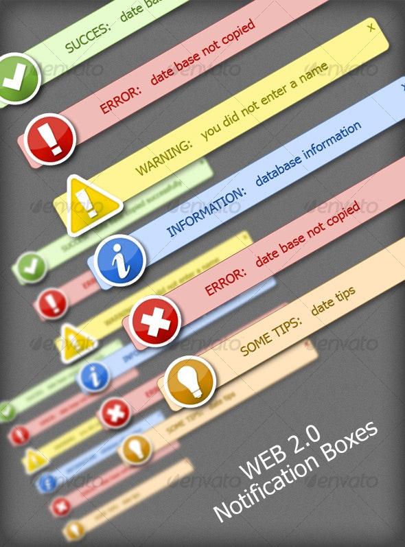 Web 2.0 Notification - Web Elements