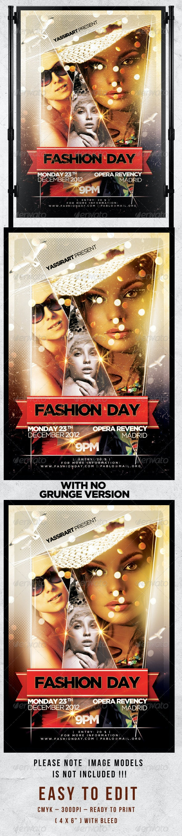 Fashion Day V2 Flyer Template - Events Flyers