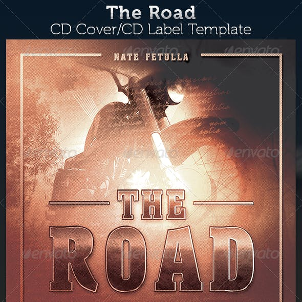 The Road: CD Cover Artwork Template