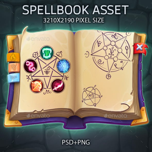 Spellbook UI asset