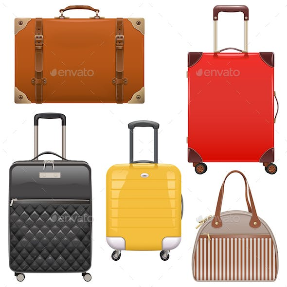 Vector Baggage Icons