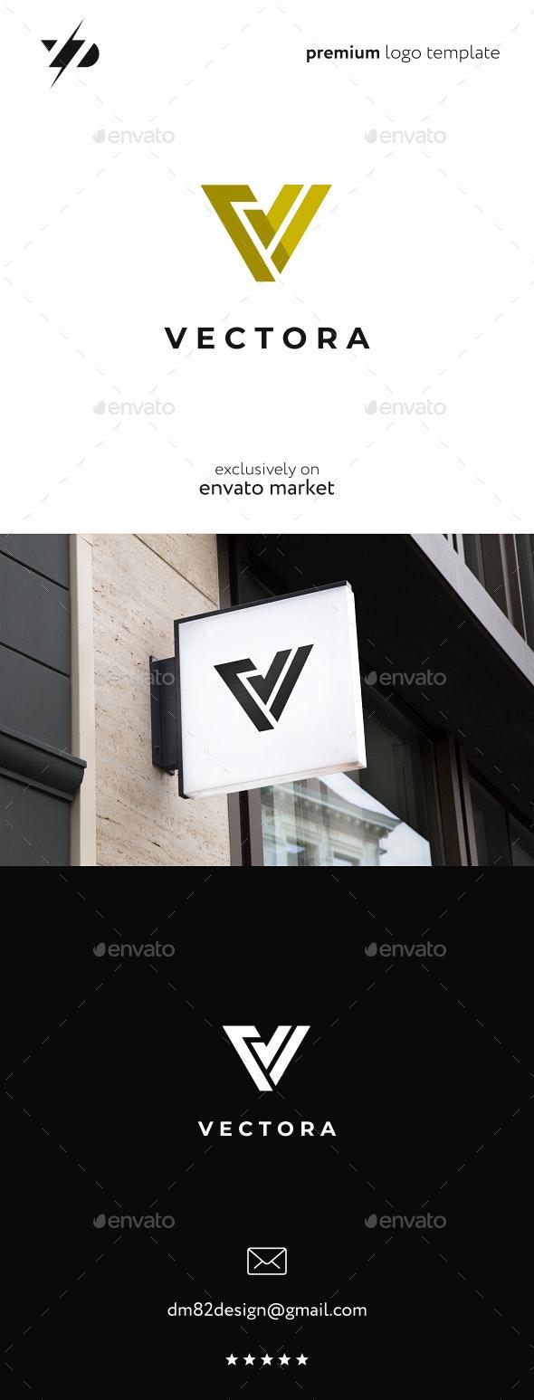 V Logo - Letters Logo Templates