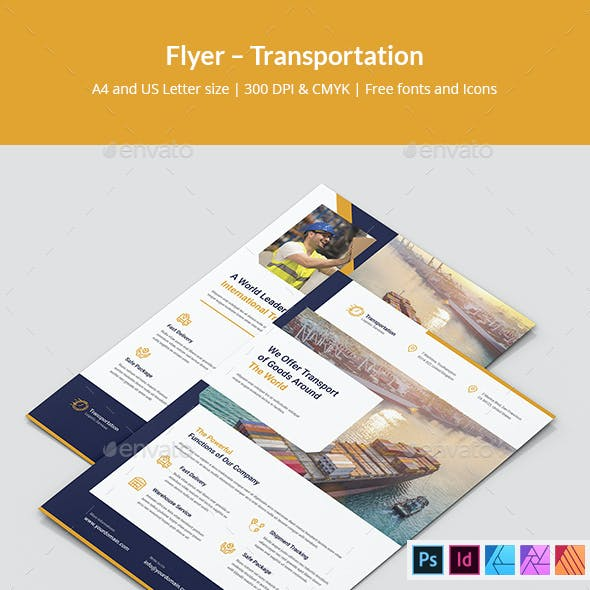 Flyer – Transportation