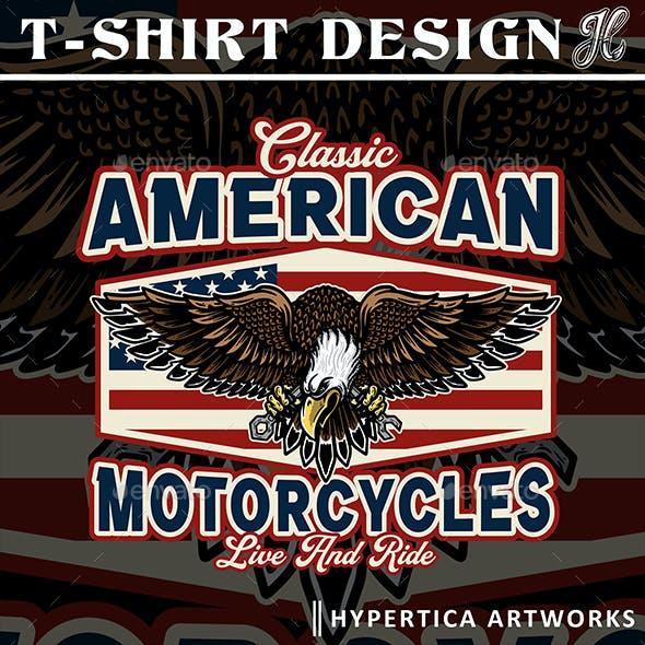 Eagle Illustration of USA