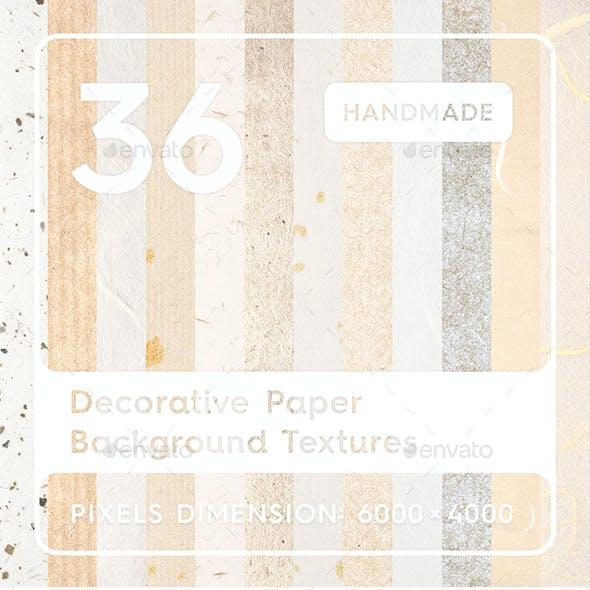 36 Decorative Paper Background Textures
