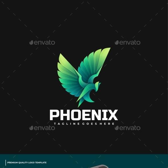 Phoenix Gradient Logo Template