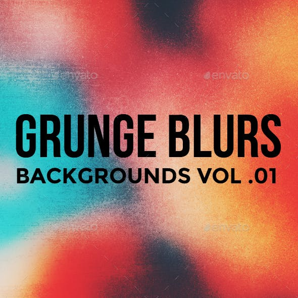 Grunge Blurred Backgrounds Vol. 01