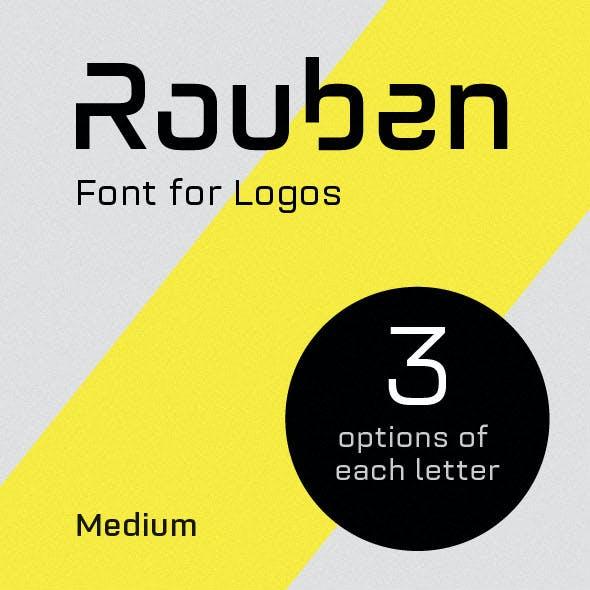 Rouben - Font For Logos