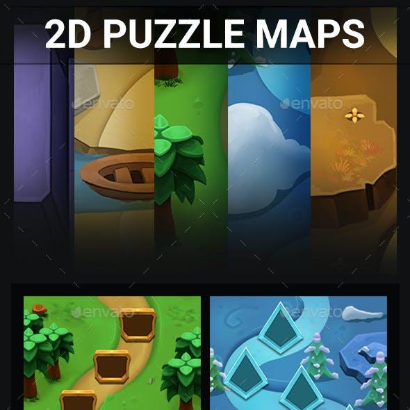 2D Puzzle Maps