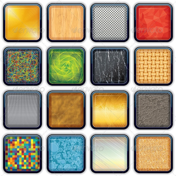 Backgrounds For The Apps Icons - Backgrounds Decorative