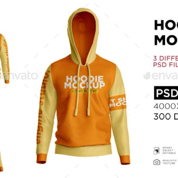 Hoodie Jacket Mockup V1