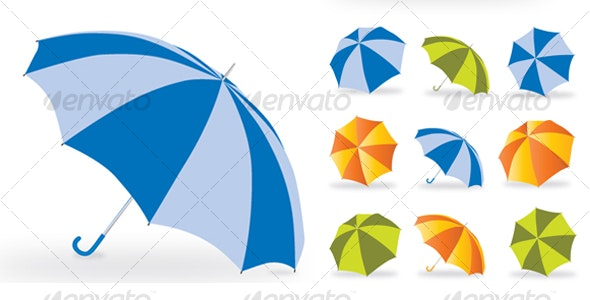 Umbrella - Man-made Objects Objects